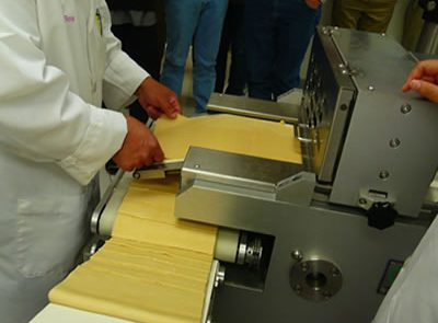 cookie line in production