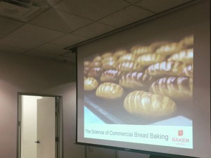Science of Commercial Bread Baking class begins