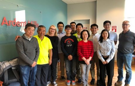 Taiwan Frozen Dough Team at Ardent Mills with Bon Lee and Janice Cooper