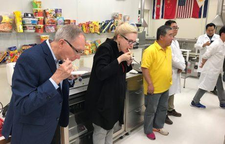 Korean Noodle Flour Technical Team Taste Tasting