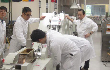 Korean Noodle Flour Technical Team Production2