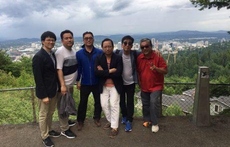 Korean Noodle Flour Technical Team Sight Seeing